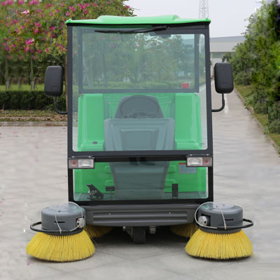 Rechargeable small street sweeper electric vacuum sweeper DQS18/18A