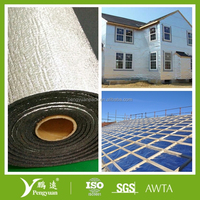 Aluminum foil backed XPE foam thermal insulation board