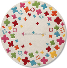 Ultra soft and warm polyester carpet for baby play