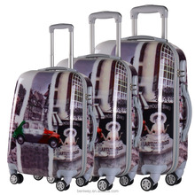 Luggage Trolley 3 Piece Sets Hardside Spinners Suitcase 20 inch 24 inch 28 inch