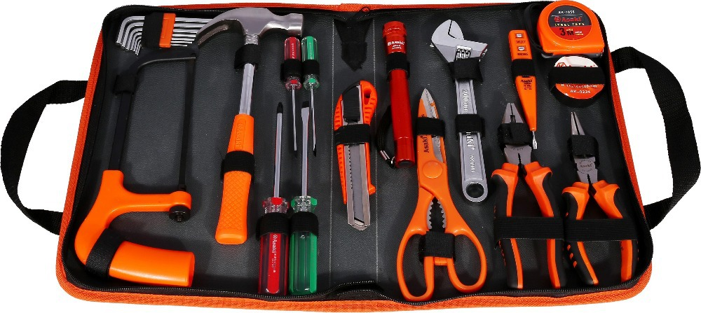 AK-9822 22 pcs repairing mechanics tool set