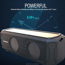 2017 hot selling speaker outdoor waterproof wireless car speaker portable solar power bank music player