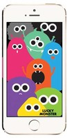 FOWN Lucky Monster Together Case for iPhone 5/5S - Authentic Korean Product