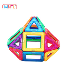 MNTL Magnetic Building Blocks Toys Set Preschool Magnetic Educational Toy 26 Pieces 3D Magnet Building Construction Kit for Kids