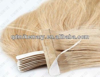 Hot sale!!! wholesale natural hair tape skin weft hair extension