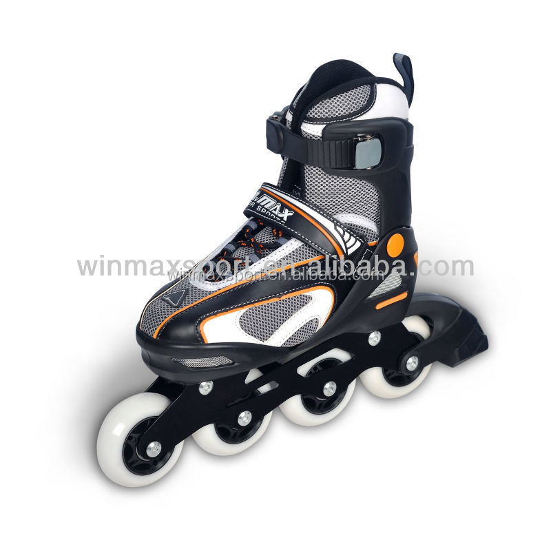 2015 New style land roller skates for sale,PU wheels inline skate shoes,inline speed skates for sale