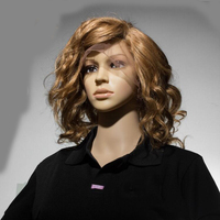 New Style Glueless Short Cut 12 Inch Ombre Blonde Grade 7A Indian Hair Silk Base Full Lace Wig With Top Quality