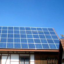 HYE adjustable flat roof pv mounting grid-tied system 16kw/16000w solar power system