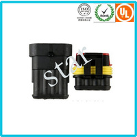 Waterproof Auto Male Female Connector Replacement For Tyco Deutsch