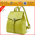 Made in China wholesale fashion genuine leather lady backpack low moq