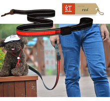 Waterproof Solar and USB Rechargeable Hot Sell Pet Dogs LED Flashing Leash