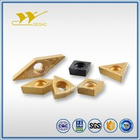 CCMT carbide turning insert for light cutting of general steel and stainless steel