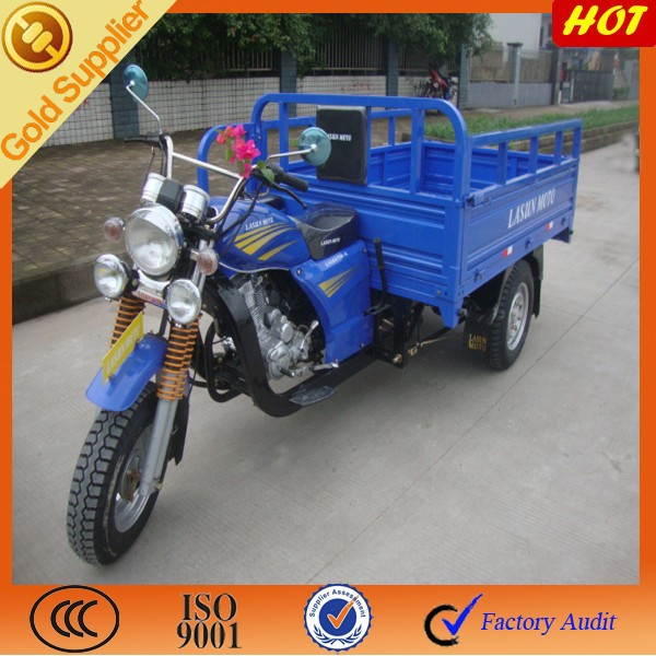 Hot sale for sidecargo three wheeler motorcycle / 3 wheeler used cargo sale