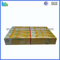 Hot selling wax paper chewing gum candy paper stick gum