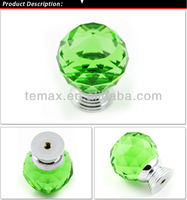 Modern furniture color stainless steel ball knobs