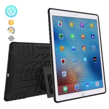 Rugged hybrid tpu pc anti-shock stand tablet cover for ipad pro 9.7 case 2017