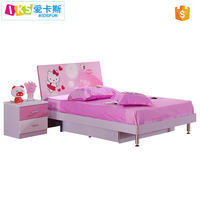 Top selling products 2017 wooden furniture bed with saving space function and toddler bed