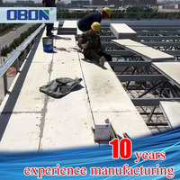 OBON fireproof prefabricated reinforcement cement airport construction material