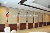 customized soundproof and fireproof room separating folding partition wall