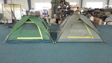 Auto open 3-4 persons hydraulic pressure camping tent