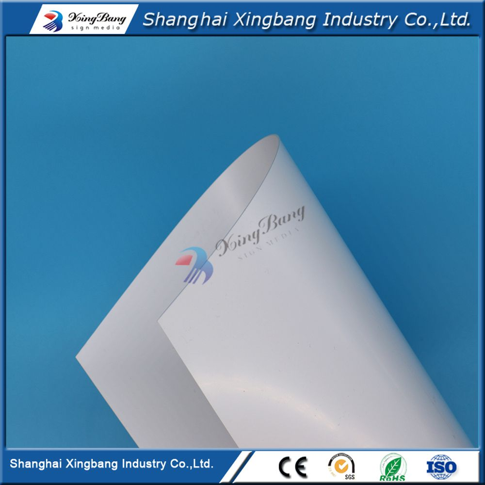 PVC Material covered white vinyl covered fireproof pvc foam sheet