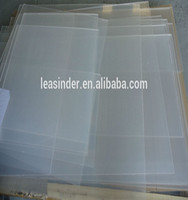 3.0mm transparent acrylic extruded sheet plastic sheet
