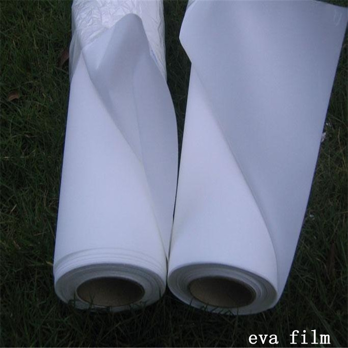 Clear color pvc thermal lamination roll eva film for laminated glass