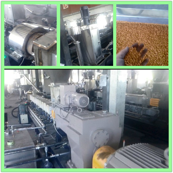NANJING KAIYOU HKY65 DIE FACE CUT TWIN SCREW EXTRUDER (WATER RING SYSTEM)