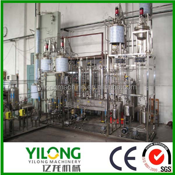cooking used oil purification machine to biodiesel by esterification