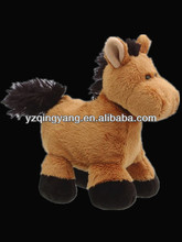 New arrival stuffed animal cuddly and lovely stuffed plush horse toys for kid