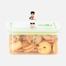 Safe Travel Clip Lock Plastic Food Containers