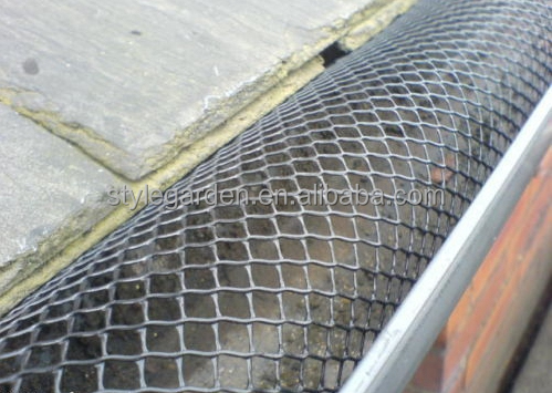 Garden Plastic Mesh Drain Gutter Leaf Guard protector Cover