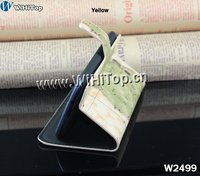 Wholesale Flip PU Leather Landscape design World Map stand Case For Samsung Galaxy S3 i9300