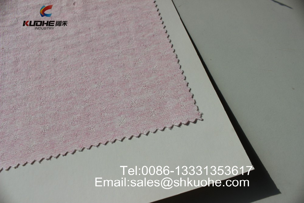 china wholesale solid soft and smooth textile cotton knitted <strong>fabric</strong>