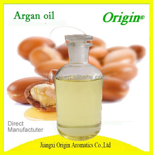Hair Oil 100% Pure Organic Cold Pressed Moroccan Argan Oil OEM Hair Treatment