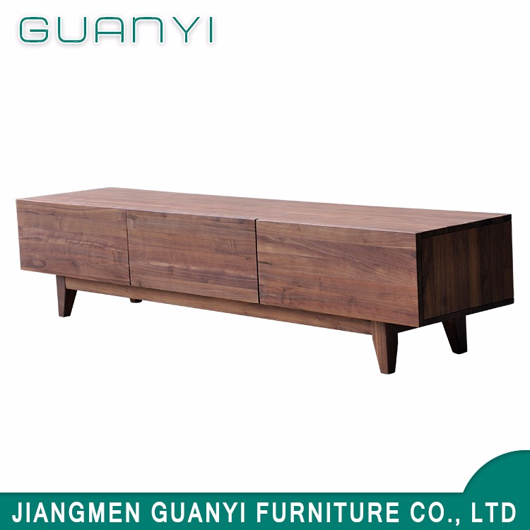 3 drawer wooden TV table