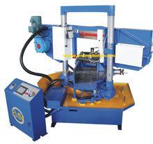 R4235 Single column hydraulic angle cut 45 degree band saw machine