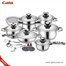 2018 New Year promote sales 23pcs multi function stainless steel cookware