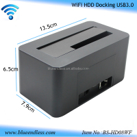"2.5""/3.5"" usb3.0 to sata wifi 3tb multi function hdd Docking station driver"