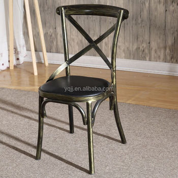 French metal cheap bistro chairs