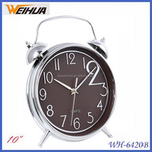 Home decor plastic table clock retro