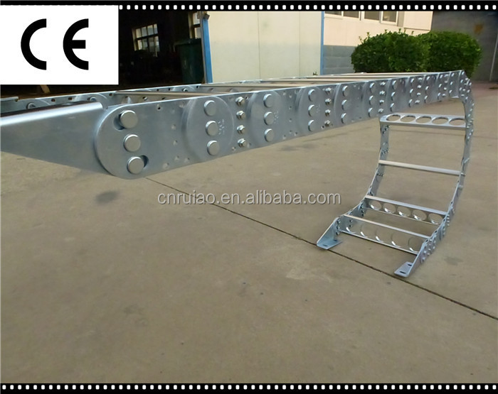 TL125 II steel cable carrier steel cable drag chain