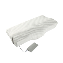 Wholesale Private Label Music Therapeutic Cervical Traction Heat Smart Massage Memory Foam Pillow With Graphene