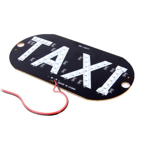 3 와트 녹색 빛 택시 돔 램프 45 LED 조명, DC 12 볼트-자동 조명 ...
