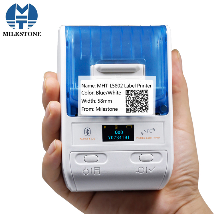 Mini Handheld Cable Label Printer With Software MHT-L5802