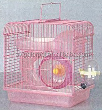 Hamster Accessory Hamster Wire Cage With Tunnel