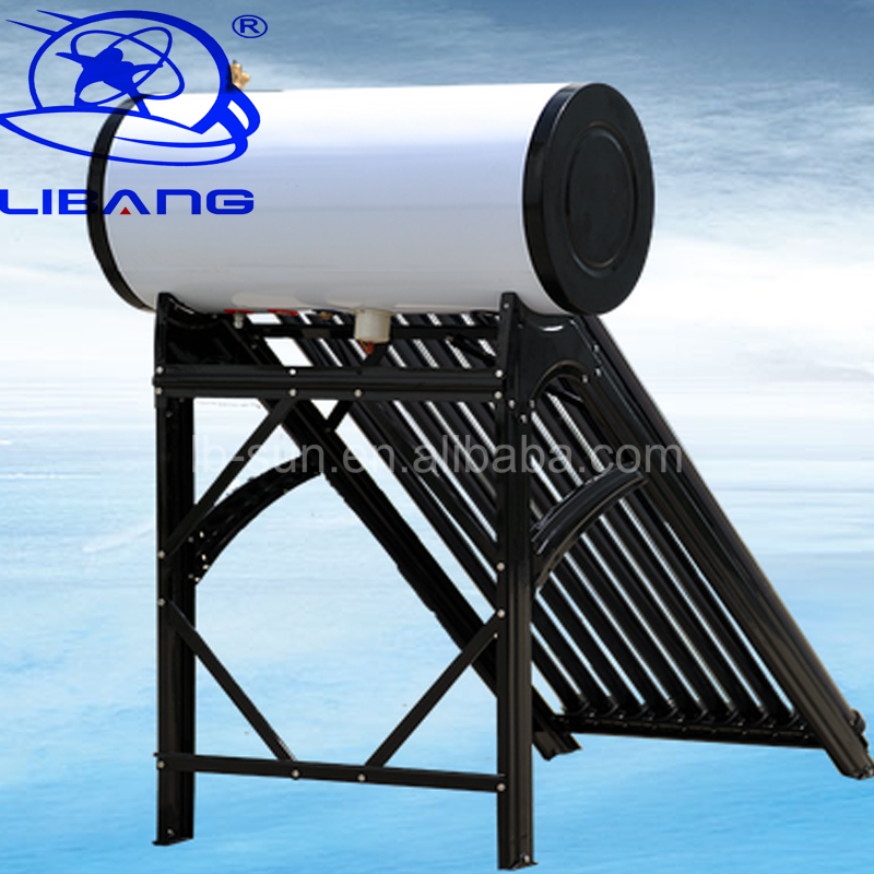 Newest Brand Heat pipe pressurized solar water heater energy conservation drawing pictures