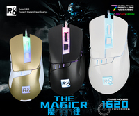Fashionalbe Latest design gaming mouse Professional 6D Optical Game
