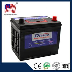 75D23 JIS giant power best car battery prices
