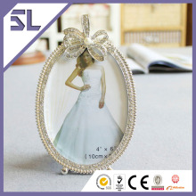 Crystal Bow Cheap Picture Frames In Bulk for Wedding Decoration Made in China